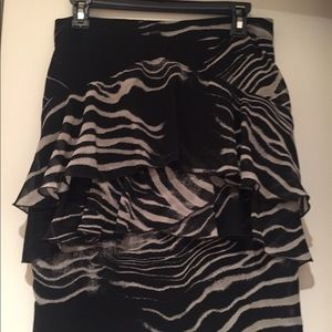 Zara high waisted skirt